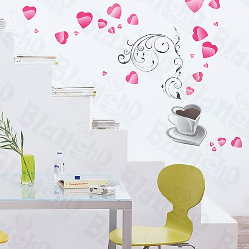 [Love Drink] Decorative Wall Stickers Appliques Decals Wall Decor Home Decor
