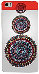 PRINTVISA Pattern Abstract Circle Case Cover for Xiaomi Mi5