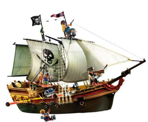 playmobil 5135 galeone dei pirati. Black Bedroom Furniture Sets. Home Design Ideas