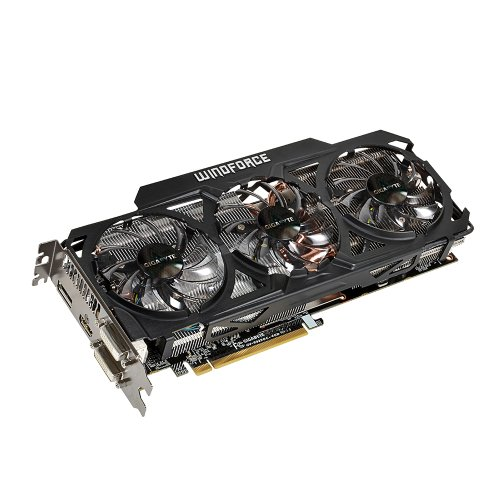 Gigabyte 290 OC Windforce Grafikkarte (PCI-e, 4GB, GDDR5, HDMI, 1 GPU)