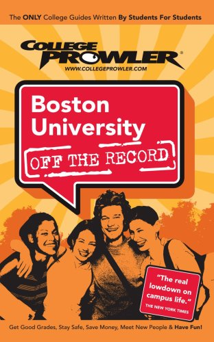 Boston University: Off The Record - College Prowler front-658356