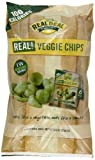 The Real Deal All Natural Snacks Real Veggie Chips, Original, 6 Count, 23g .883 Oz ea.