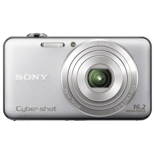Sony DSCWX50 Compact Digital Camera - Silver (16.2MP, 5x Optical Zoom) 2.7 inch LCD