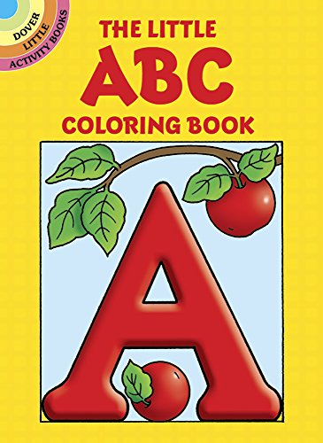 The Little ABC Coloring Book (Dover Little Activity Books) (Kid Coloring Book compare prices)