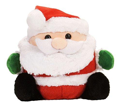 Wild Republic Xmas Roller Santa Plush
