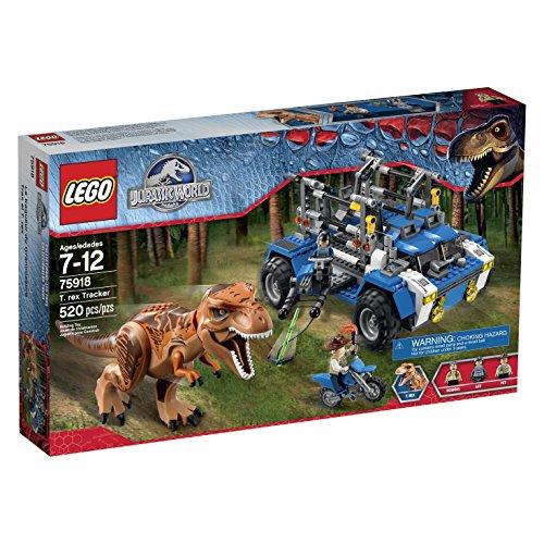 <b>LEGO Jurassic World T. Rex Tracker 75918</b>