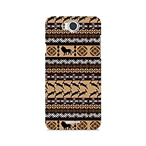 Ebby Tribal Lion Premium Printed Case For InFocus M530