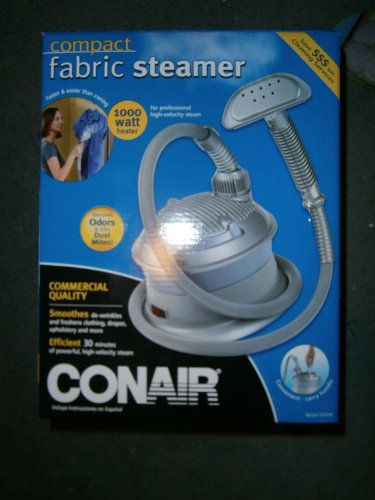 Conair Compact Fabric Steamer Gs33W back-53864