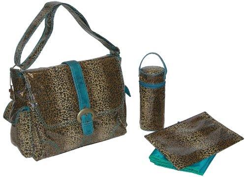 kalencom-fashion-wickeltasche-mama-tasche-buckle-bag-laminiert-leopard-blaugrun