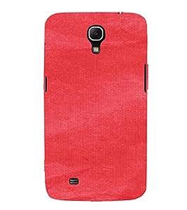 PrintVisa Red Canvas Paper Design 3D Hard Polycarbonate Designer Back Case Cover for Samsung Galaxy Mega 6.3