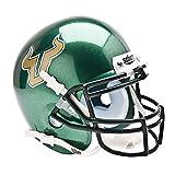 SOUTH FLORIDA BULLS NCAA AUTHENTIC MINI 1/4 SIZE HELMET (ALTERNATE GREEN 1)