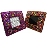Handmade Beaded Material Antique Photo Frame Table Top Vintage Style Picture Frame Home Decor Decorative Picture...