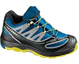 Salomon Kids XA Pro 2 WP Shoes - Union Blue/ Light Onix/ Canary Yellow