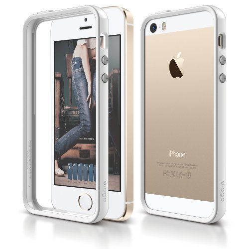 elago S5 Bumper Case for iPhone 5/5S (White)