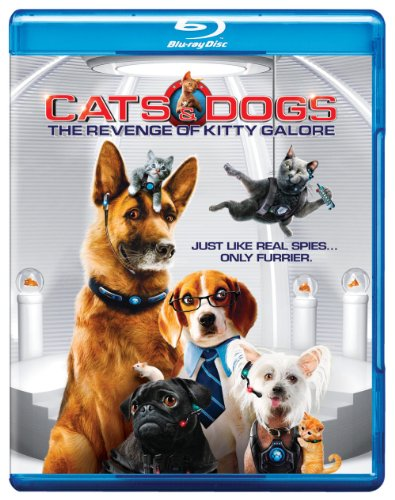 Cover art for  Cats &amp; Dogs: The Revenge of Kitty Galore [Blu-ray]