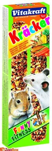 Vitakraft Kräcker Funny Fitness mit Korn & Frucht