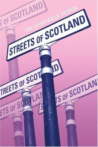 苏格兰的街道