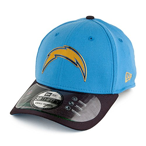 new-era-39thirty-san-diego-chargers-baseball-cap-nfl-gold-collection-blue-grey-small-medium