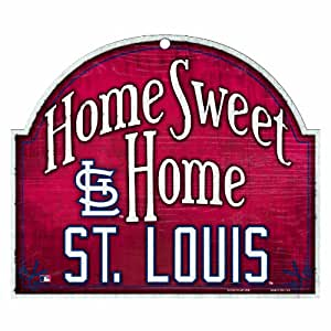 mlb st louis cardinals 10 by 11 inch wood. Black Bedroom Furniture Sets. Home Design Ideas