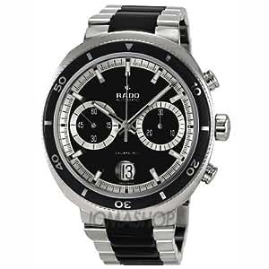 Rado R15965152 D-Star Automatic Mens Watch - Black Dial: RADO: Watches
