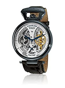 Stuhrling Original Men's 127A2.33X52 Analog Display Automatic Self Wind Black Watch