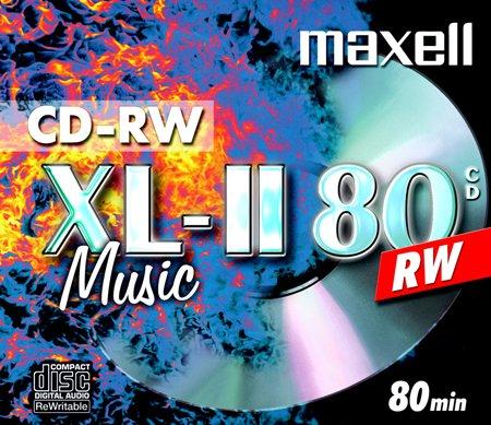 Maxell CD Audio CDRW 80 MU