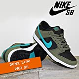 NIKE(ナイキ) ダンク ロー プロ DUNK LOW PRO SB Medium Olive/Turbo Green-Black/メンズ(men's) 靴 スニーカー (304292-230)