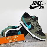 NIKE(ナイキ) ダンク ロー プロ DUNK LOW PRO SB Medium Olive/Turbo Green-Black/メンズ(men's) 靴 スニーカー (304292-230)