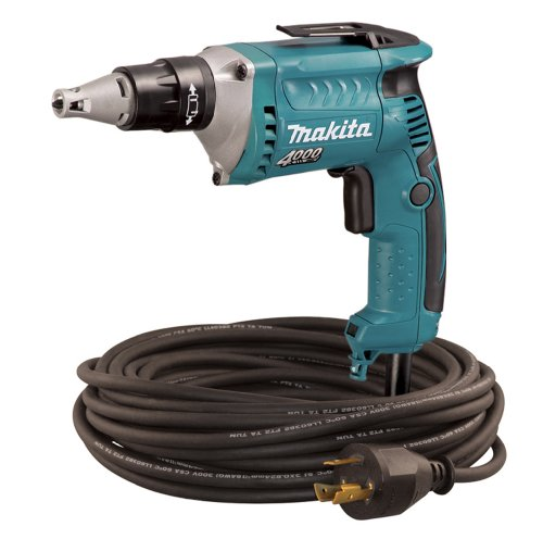 Makita FS4200TP 4,000 RPM Drywall Screwdriver with 50-Foot Twist Lock Cord