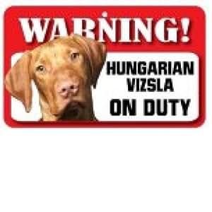 Hungarian Vizsla Pet Sign
