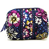 Vera Bradley Large Cosmetic Womens Fabric Cosmetic Bags
