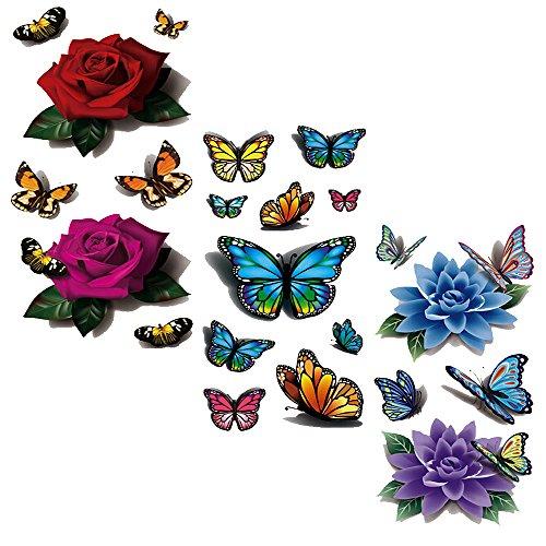 evtechtm-3-estilo-mix-flores-florales-de-animales-rojo-de-la-mariposa-purpura-rose-purpura-azul-lotu