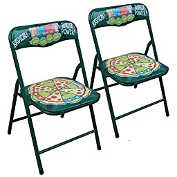 Nickelodeon Teenage Mutant Ninja Turtles Folding Chairs (2 Pack)