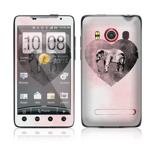Save Us Protective Skin Cover Decal Sticker for HTC Evo 4G (Sprint) Cell Phone