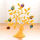 Liyin Lucky Tree Ladybug Style Notes Stickers Magnetic Message Sticker Frame Photo Frame Decorations (yellow)