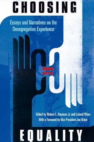 Choosing Equality: Essays and Narratives on the...