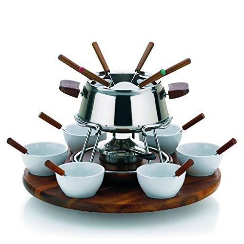 fondue bourguignonne et sauces d 39 accompagnement recette de fondue bourguignonne et sauces d. Black Bedroom Furniture Sets. Home Design Ideas