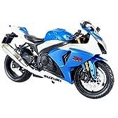 スカイネット 1/12 完成品バイク SUZUKI GSX R1000 (ブルー)