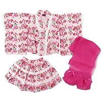 盛夏 Dolly Ribbon(ドーリーリボン) ベビー女児浴衣ドレス3点セット 90cm/ピンク NO.BR-148801