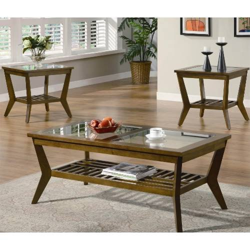 Coaster Furniture 701528 Coffee and End Table Set 701528