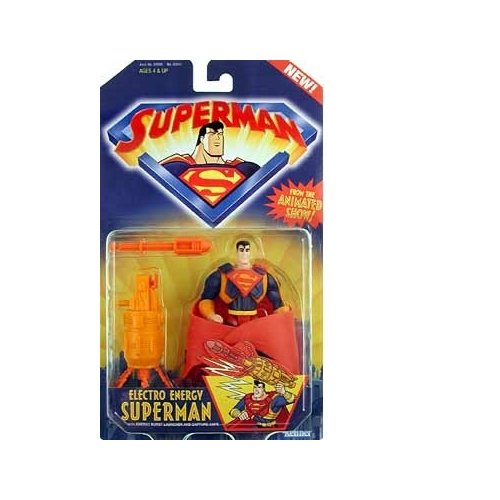Superman the Animated Series Electro Energy Superman Action Figure