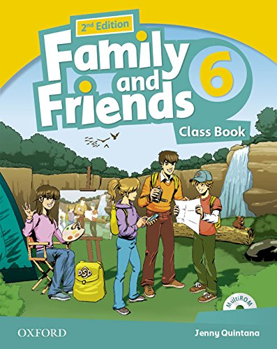 Pack: Family & Friends 6. Class Book. Student's Book - 2ª Edición (Family & Friends Second Edition)
