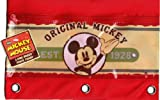 Classic Vintage 1928 Mickey Mouse Zippered Pencil Case Pouch for 3 Ring Binder