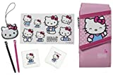 Hello Kitty Accessory Pack for Nintendo DS / DSi / 3DS / DS Lite – Pink