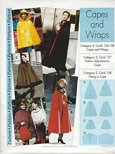 Sewing Step-By-Step Sewing Pattern Sizes 4-22 Capes & Wraps Apparel ...