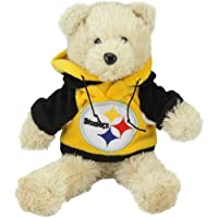 NFL Pittsburgh Steelers 8'' Plush Hoodie Bear from Football Fanatics