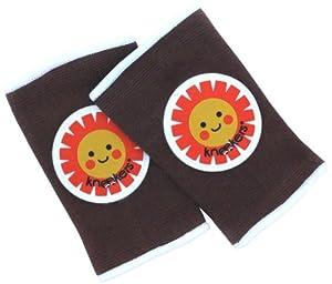 Kneekers - Rodilleras para bebé, diseño de sol feliz marca Ah Goo Baby en BebeHogar.com