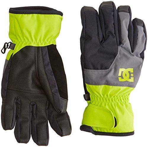 DC Shoes guanti da uomo Seger M Glov ggy0, Uomo, Gloves Seger M GLOV GGY0, Lime acceso, M