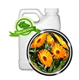 CALENDULA Oil Extract - 64oz - anti-inflammation, wound healing, dry cracked skin, juvenile acne, sunburn, sprains
