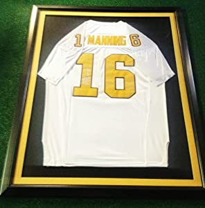 Peyton Manning autographed Tennessee Volunteers jersey by Man+Cave+Pro+Memorabilia